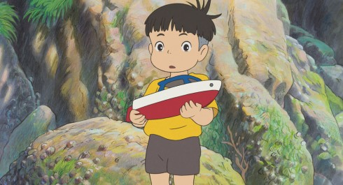 PONYO ON THE CLIFF BY THE SEA - Still 7