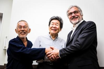 Michael Dudok de Wit, Isao Takahata & Toshio Suzuki