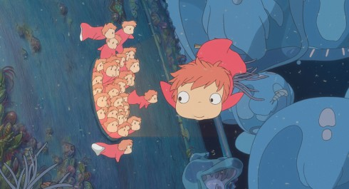 PONYO ON THE CLIFF BY THE SEA - Still 4
