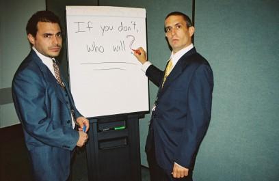YES MEN (THE) - Still 1
